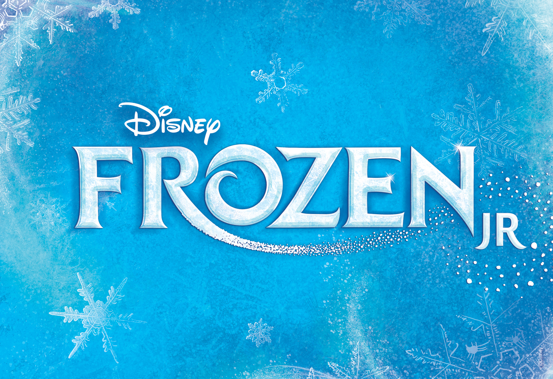 A story of true love and acceptance between sisters,  Frozen JR.  expands upon the emotional relationship and journey between Princesses Anna and Elsa. When faced with danger, the two discover their hidden potential and the powerful bond of sisterhood. With a cast of beloved characters and loaded with magic, adventure, and plenty of humor,  Frozen JR.  is sure to thaw even the coldest heart!