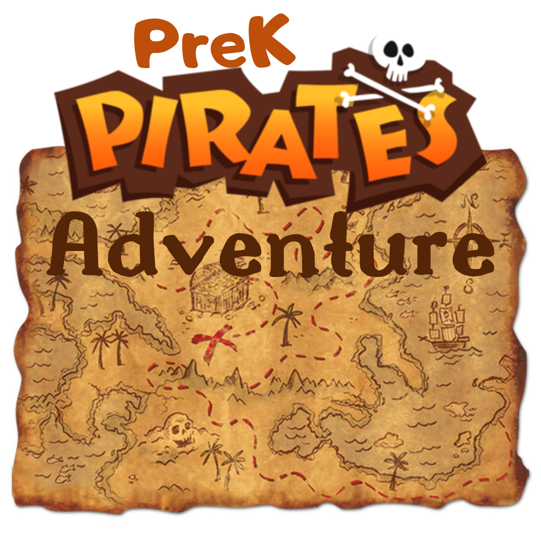 PreK Pirates Adventure   Tuition:  $75   June 3rd-7th   12:30 a.m. - 2:00 p.m.   ages: 4-5    Description: Arrr… Matey! Come to pirates cove for a pirate adventure at Spark! We will explore all of the best in pirate theatre - Treasure Island, Pirates Past Noon, The Pirates of Penzance, and Peter Pan. Dive into treasure box theatre, make your very own treasure map, sing like a sailor and more! Sign up or you will walk the plank!