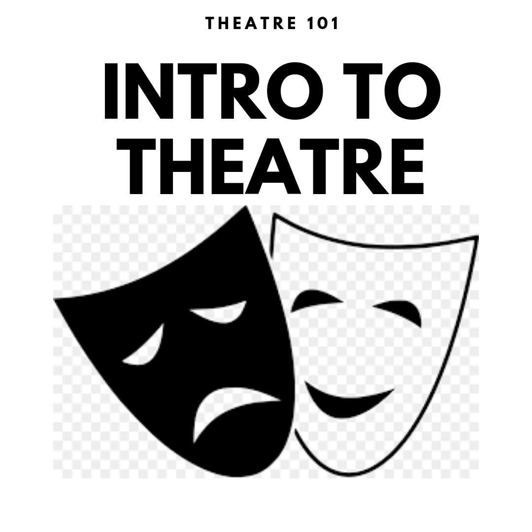 Intro to Theatre   Tuition:  $100   June 3rd-7th   2:00-4:00 p.m.   ages:  10+   Description:  Are you interested in performing but lack the confidence or experience to take the plunge? This is the class for you! Intro to theatre will guide you step-by-step through the basics of the world of theatre. Learn theatre terminology, basic acting skills, and more, in a comfortable, low pressure environment. After completing this camp, you will be prepared to take the next step in participating in your very first production!