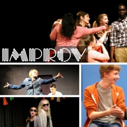 Improv Theatre Camp   Tuition:  $100   June 17th-21st   4:30-6:30 p.m.   ages 10+    Description:  Don't miss this fun, fast paced camp! Students will learn improvisation skills through interactive theatre games and exercises. Live theatre is full of instances where things on stage don't always happen as planned. Improv is an important skill for every young actor to develop.