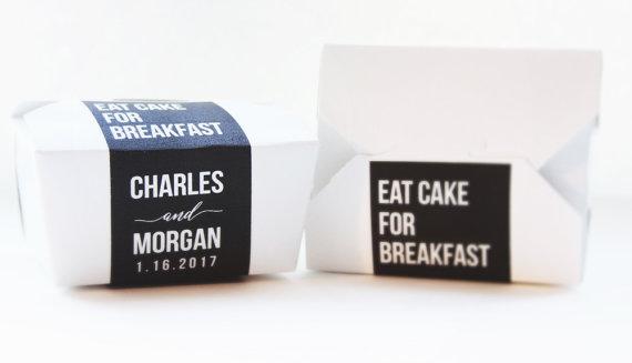 Set of 25 custom cake boxes $50.00