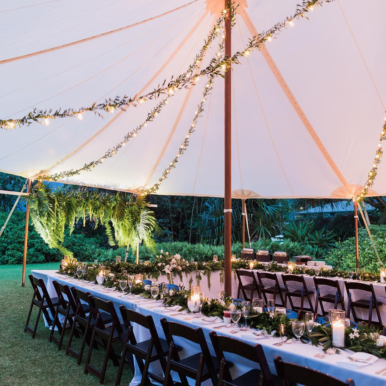 Kauai Tent & Party - Tents, tables, chairs, stages, dance floors