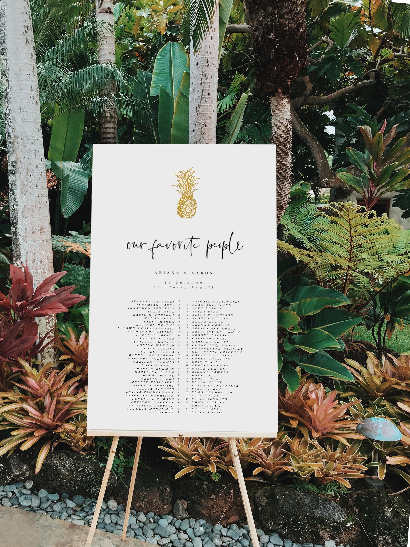 Hawaii Calligraphy - custom signs, invitations, menus, cake toppers