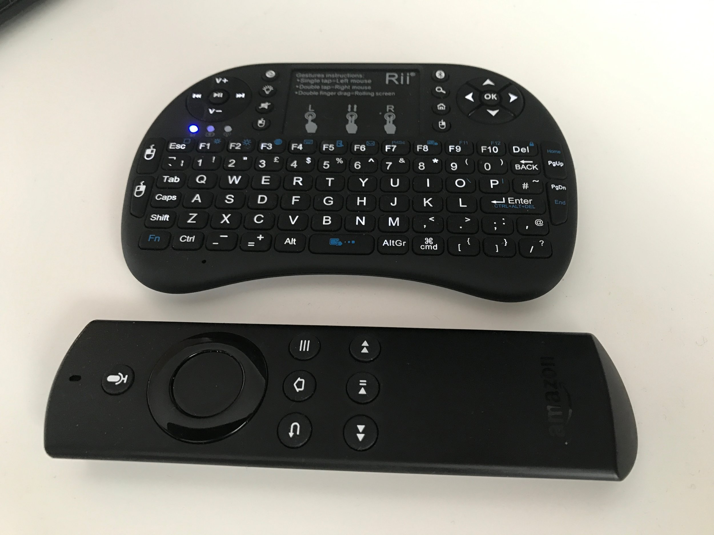 Compared to Firestick Controller