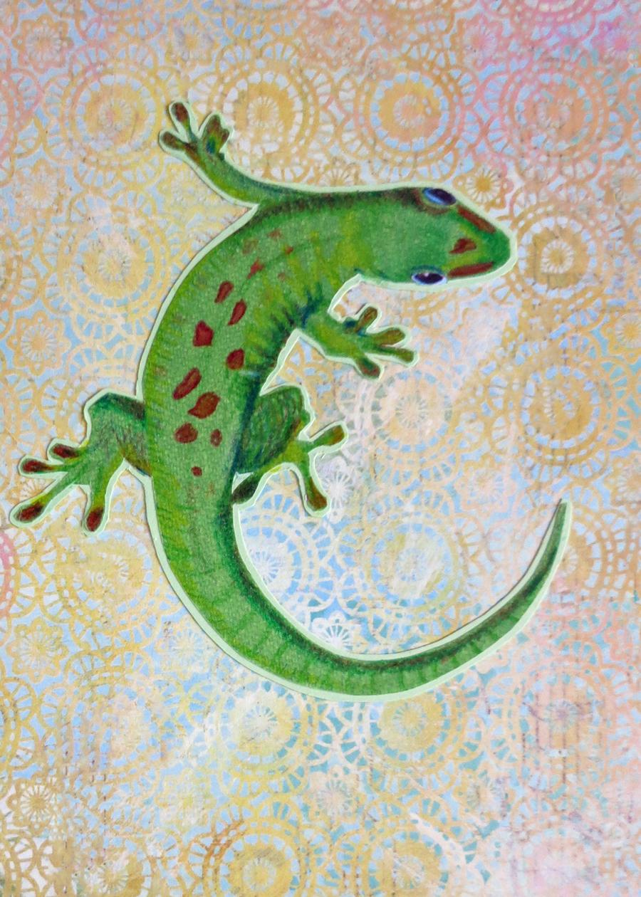 Letter C Gecko