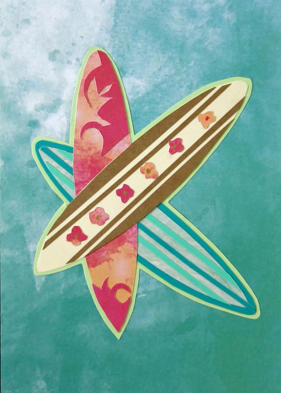 Letter K Surfboards in Green