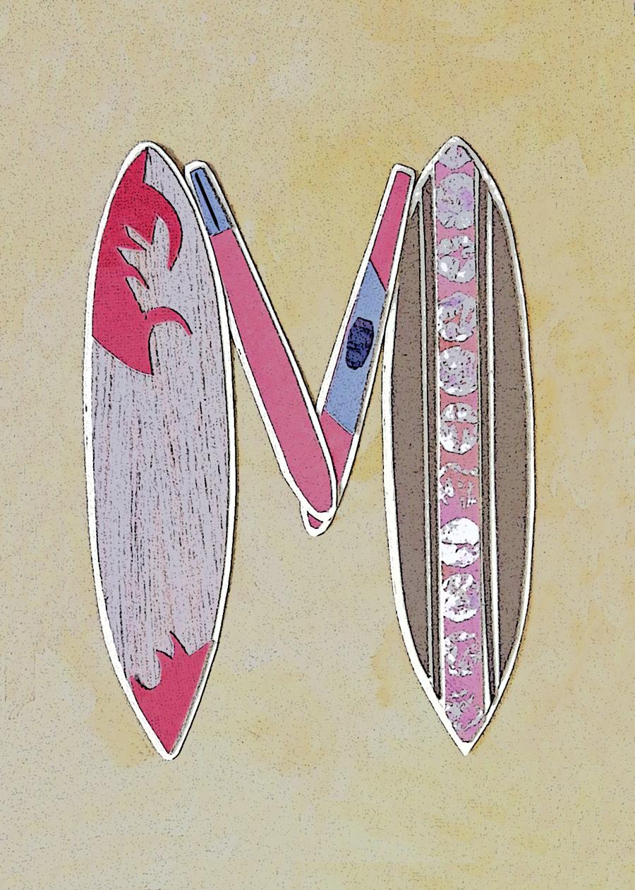 Letter M Surfboards