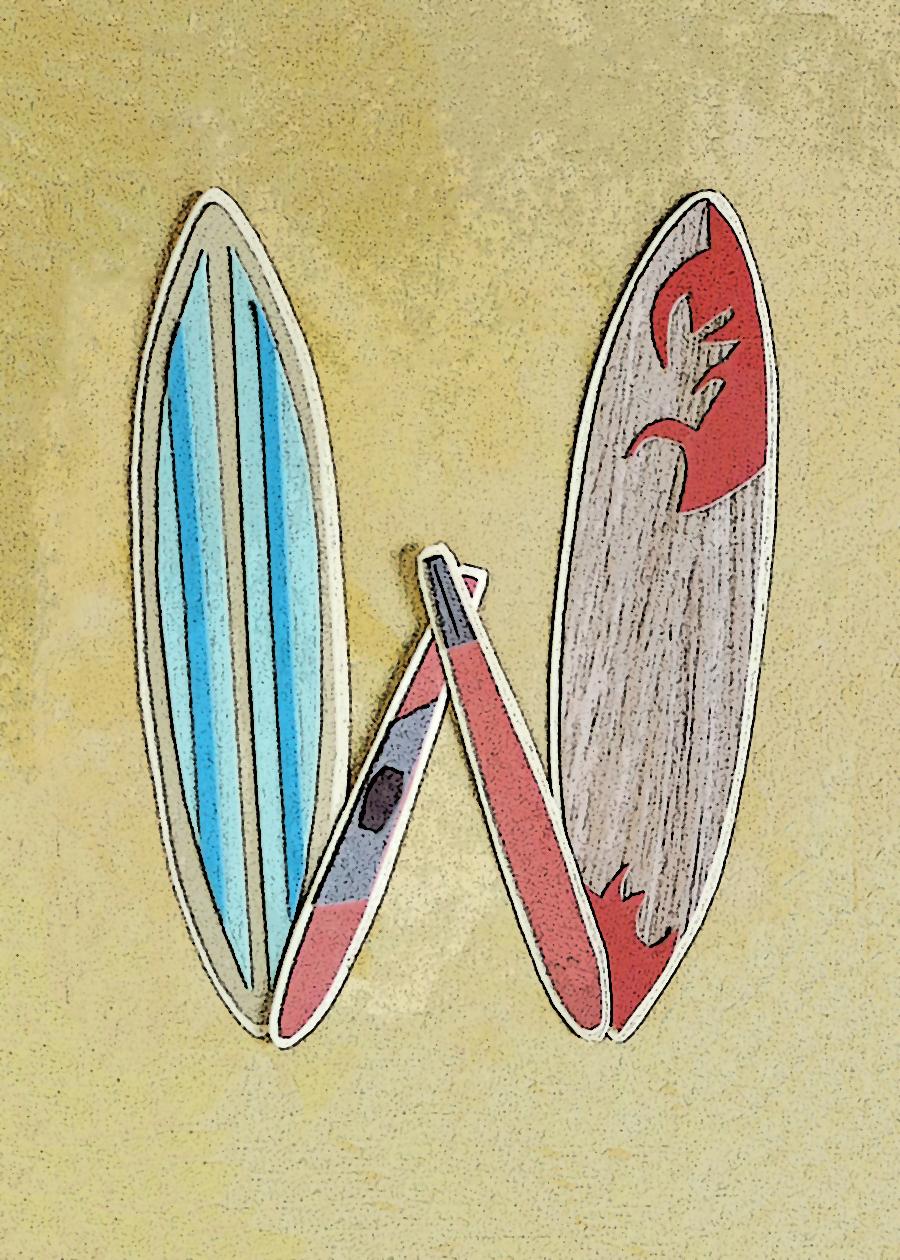 Letter W Surfboards