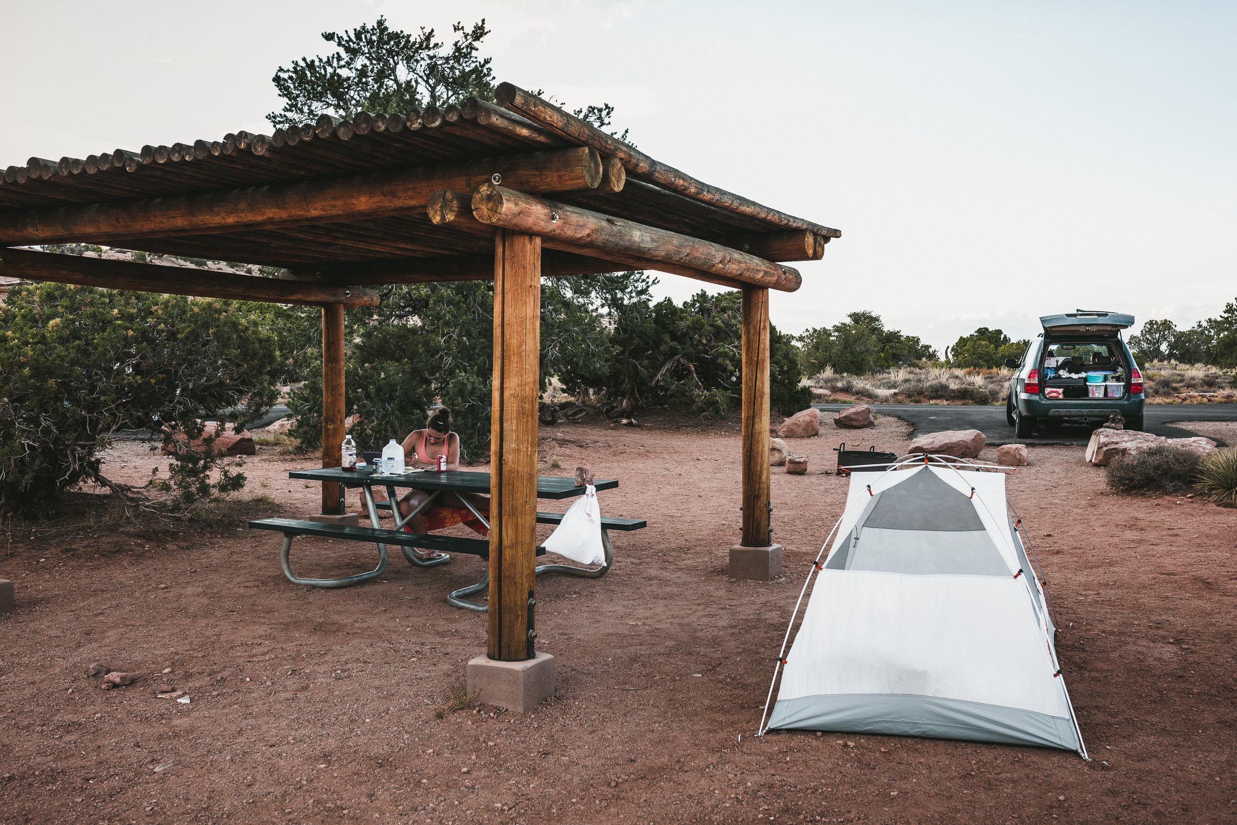 Campground im Canyonland NP