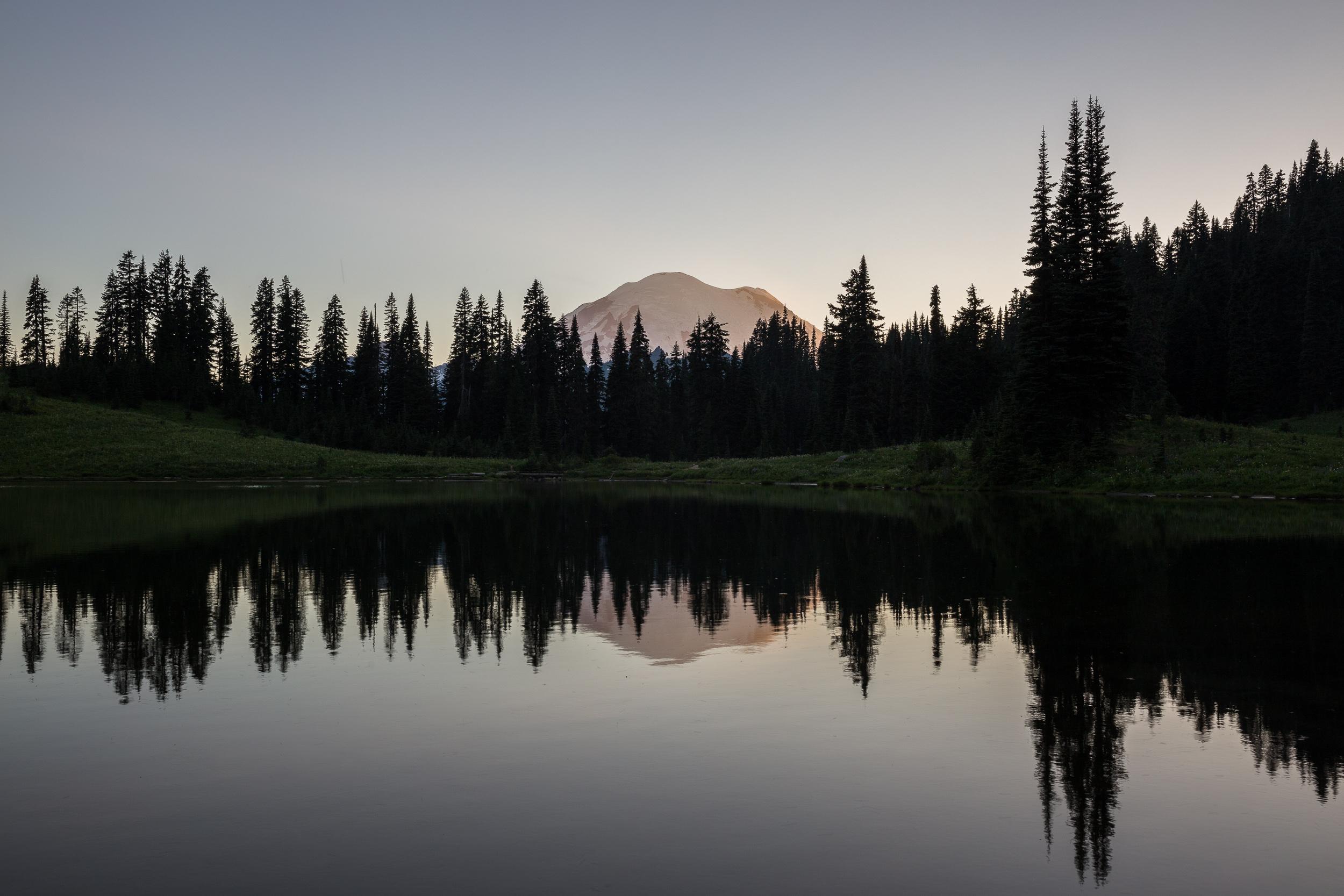Tipsoo Lake im NP