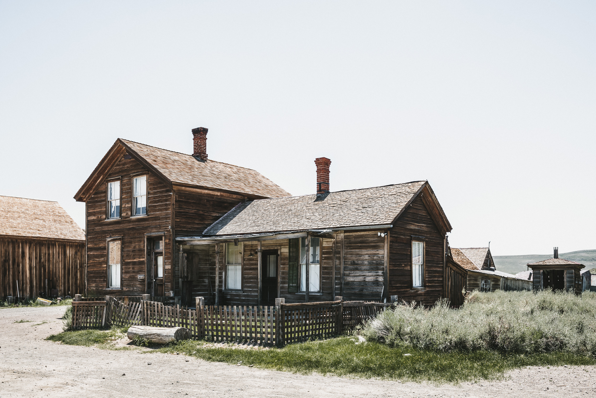 Ghost Town im Bodie State Park