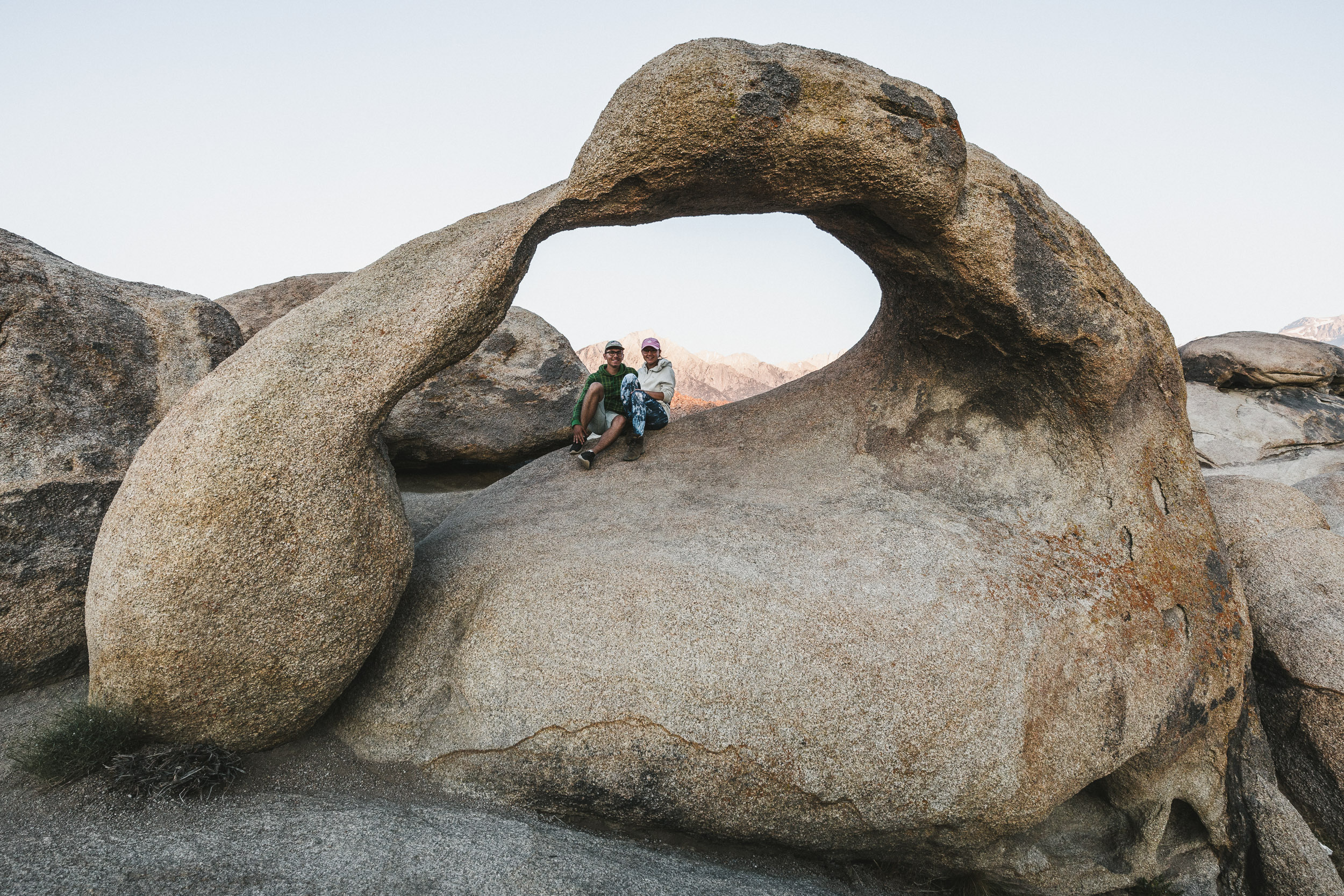 Möbius Arch in den Alabama Hills