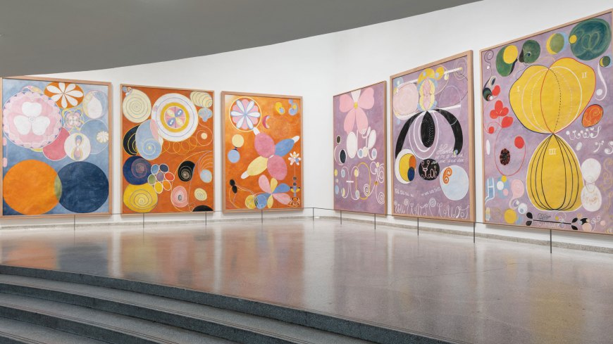 Photo credit:  The Guggenheim , Hilma af Klint,  Paintings for the Temple