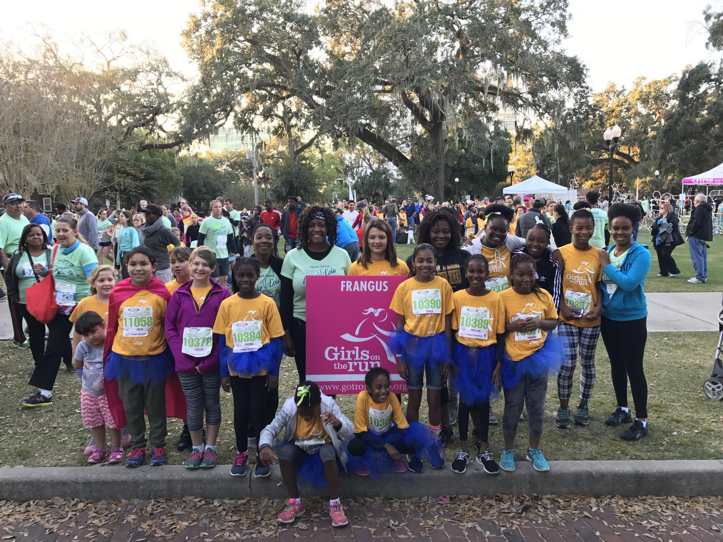 The Frangus Elementary Girls on the Run