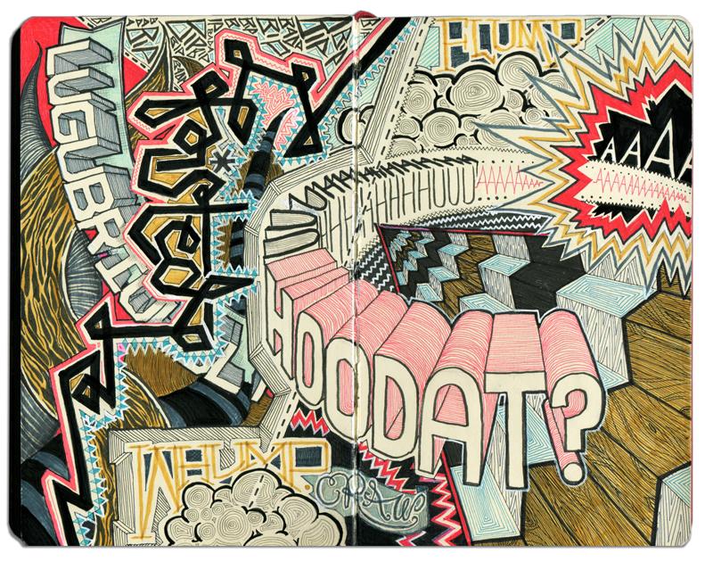 Sketchbook: Hoodat