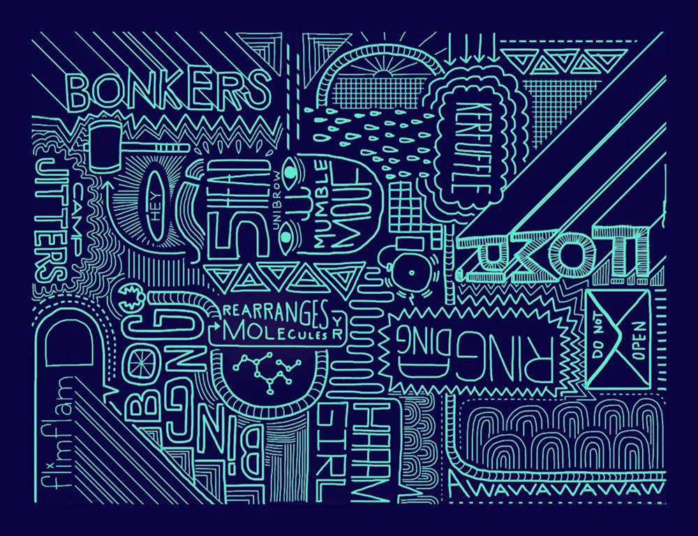 Digital Drawing: Bonkers