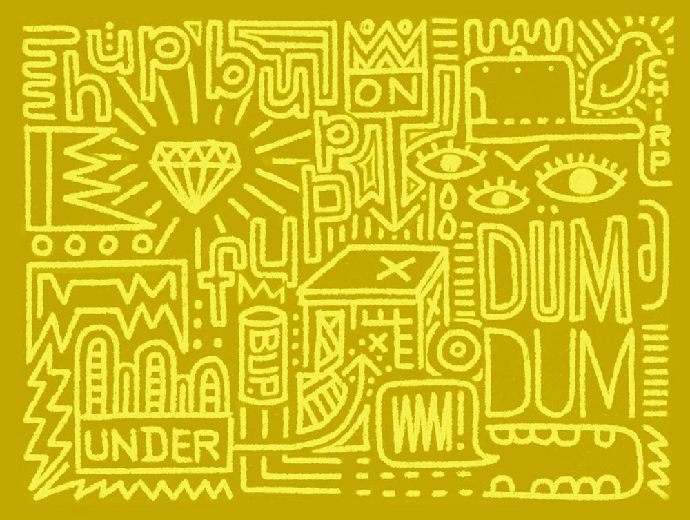 Digital Drawing: Dum Dum