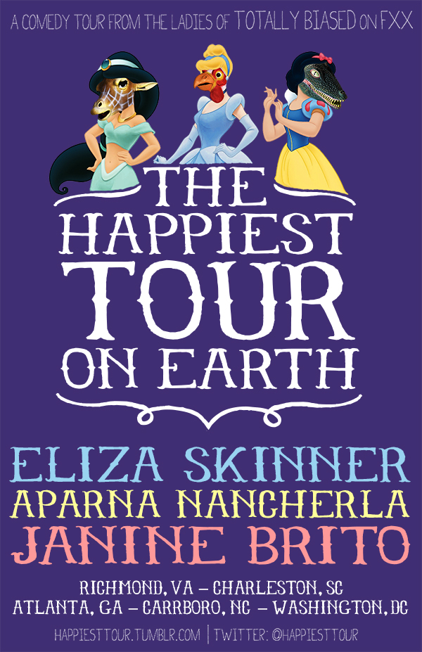 Happiest Tour on Earth poster