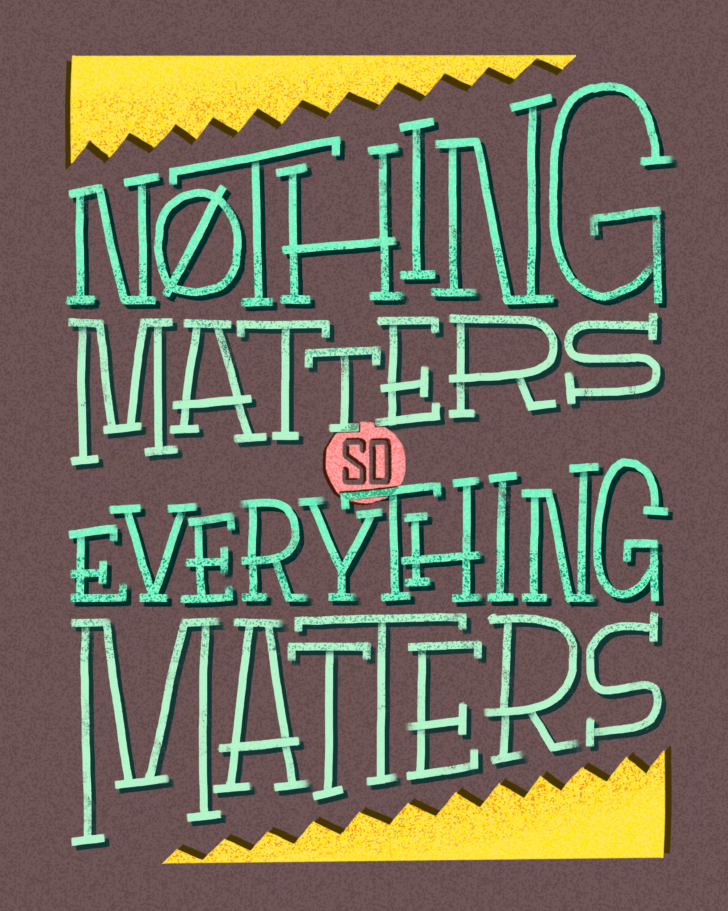 """Keith Haring, """"Everything Matters"""""""