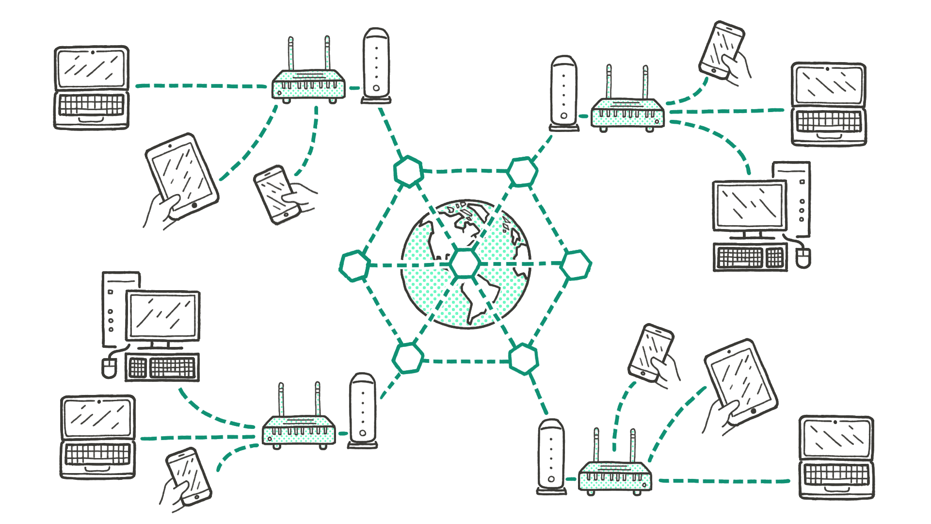 "Illustration: ""A Network of Networks"""