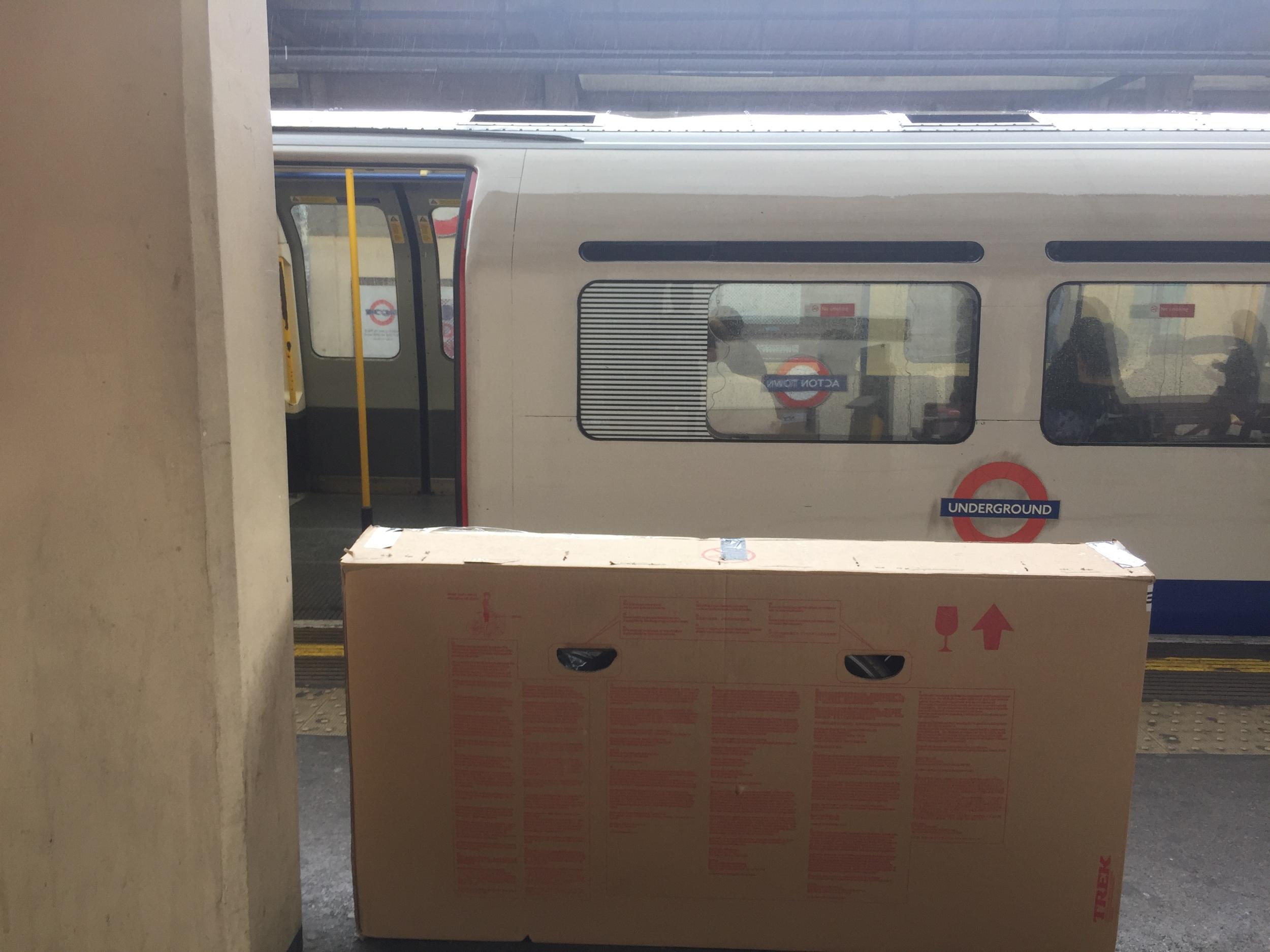 Bike box on the tube