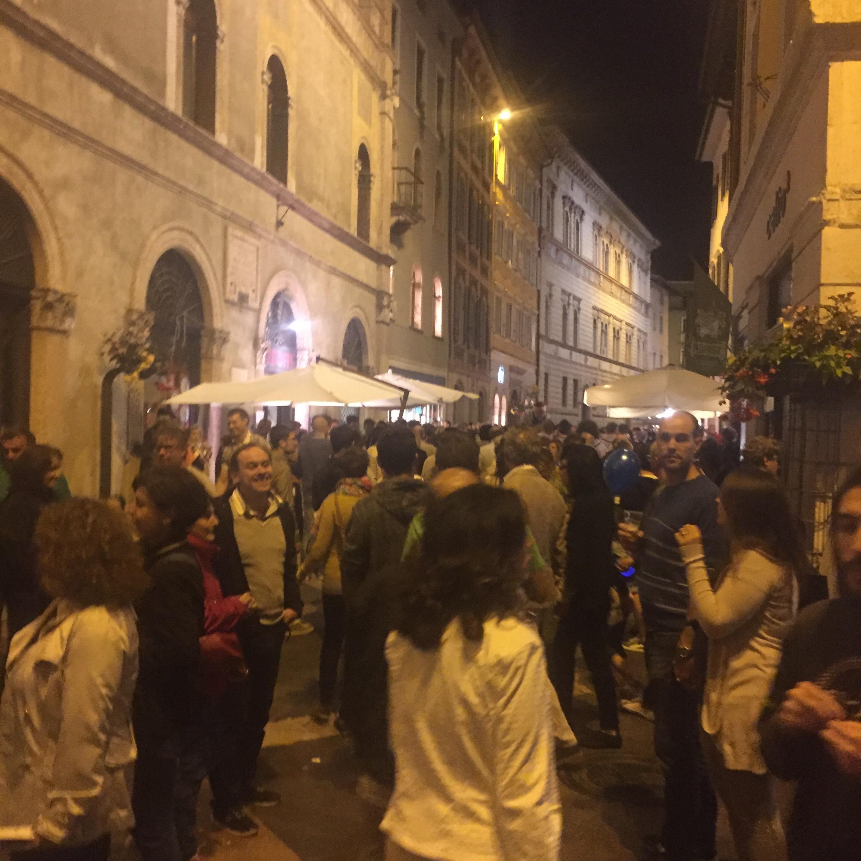 Big night in Trento