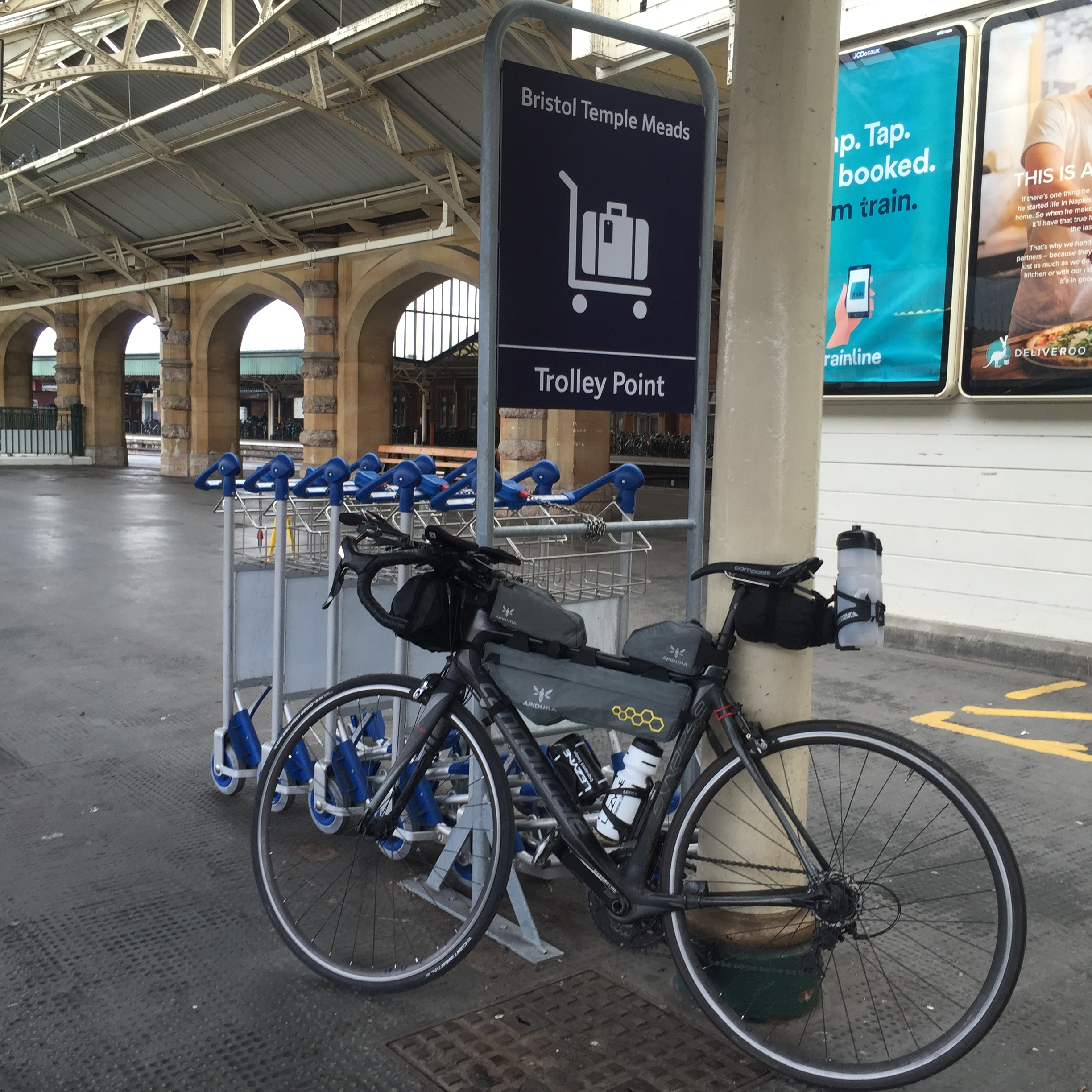 Bike before the Valley Cat at Temple Meads