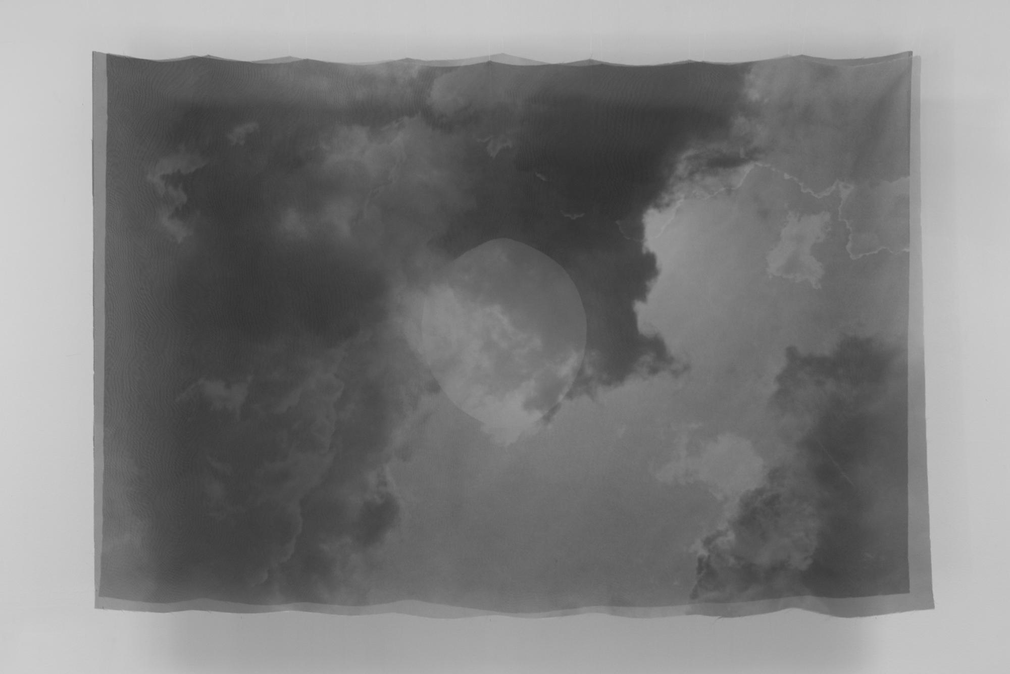 "Photographic Printson Polyester. 56""x38"""