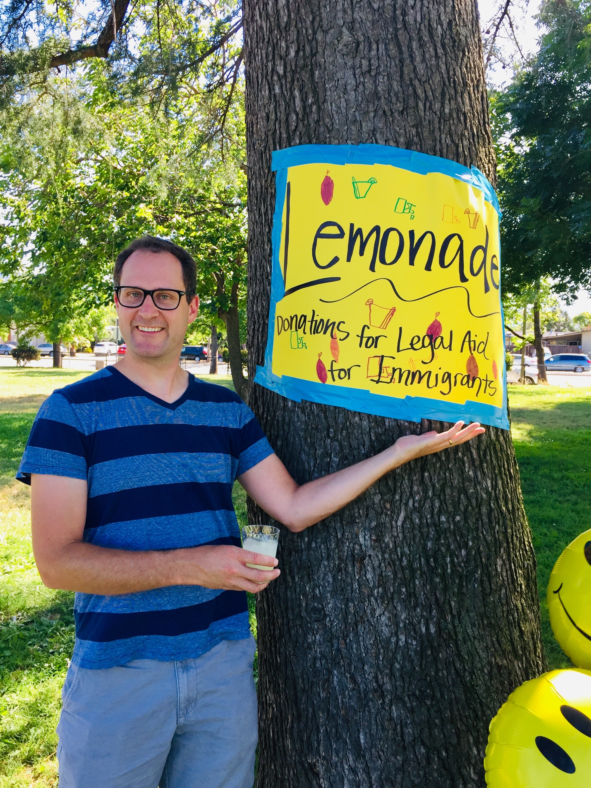 Chris Smallwood, legendary lemonade maker
