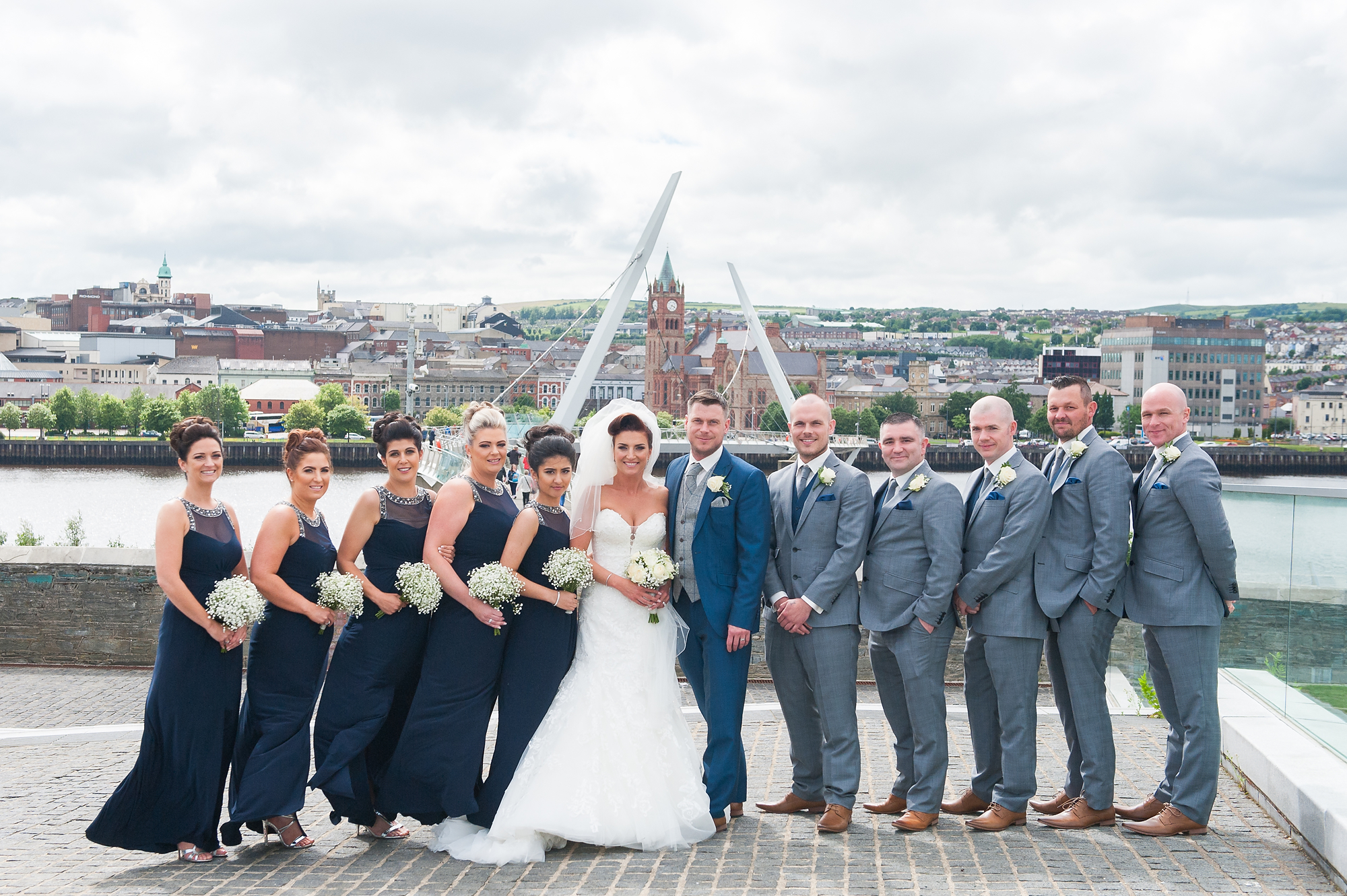 Michael Gill Photography - Leanne and Colin's Derry Redcastle Hotel Wedding -19 .JPG