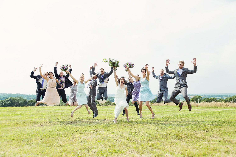 Vintage Pastel Themed Sussex Wedding