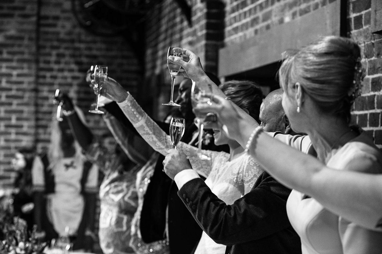 Gaynes Park Wedding - Essex Wedding Photographer - Groom's Toast