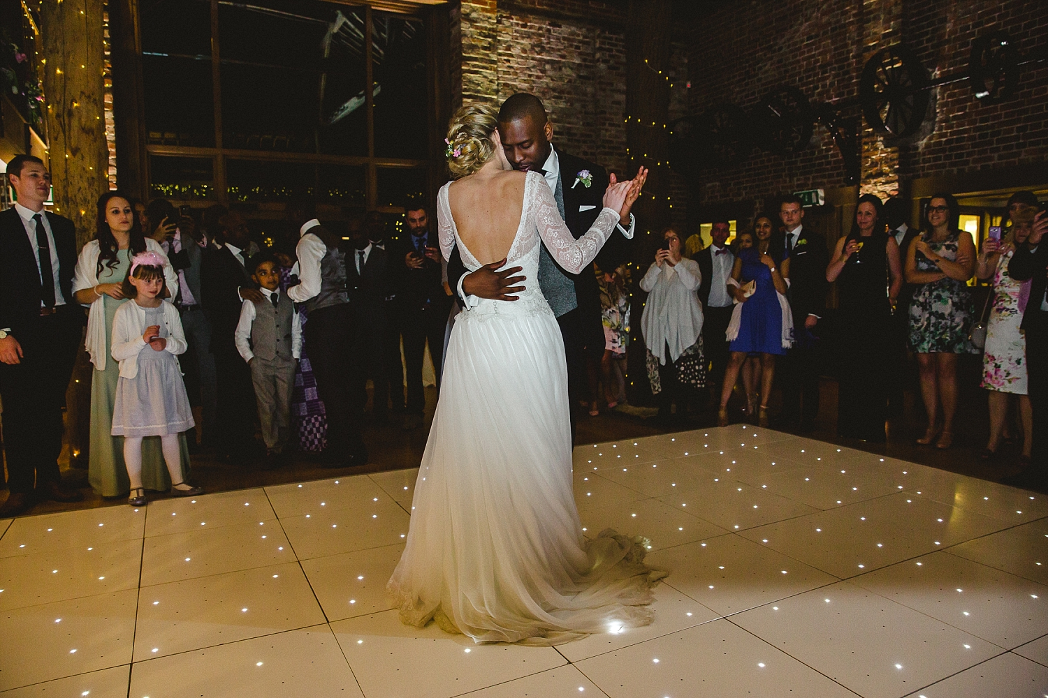 Gaynes Park Wedding Photographer - First Dance