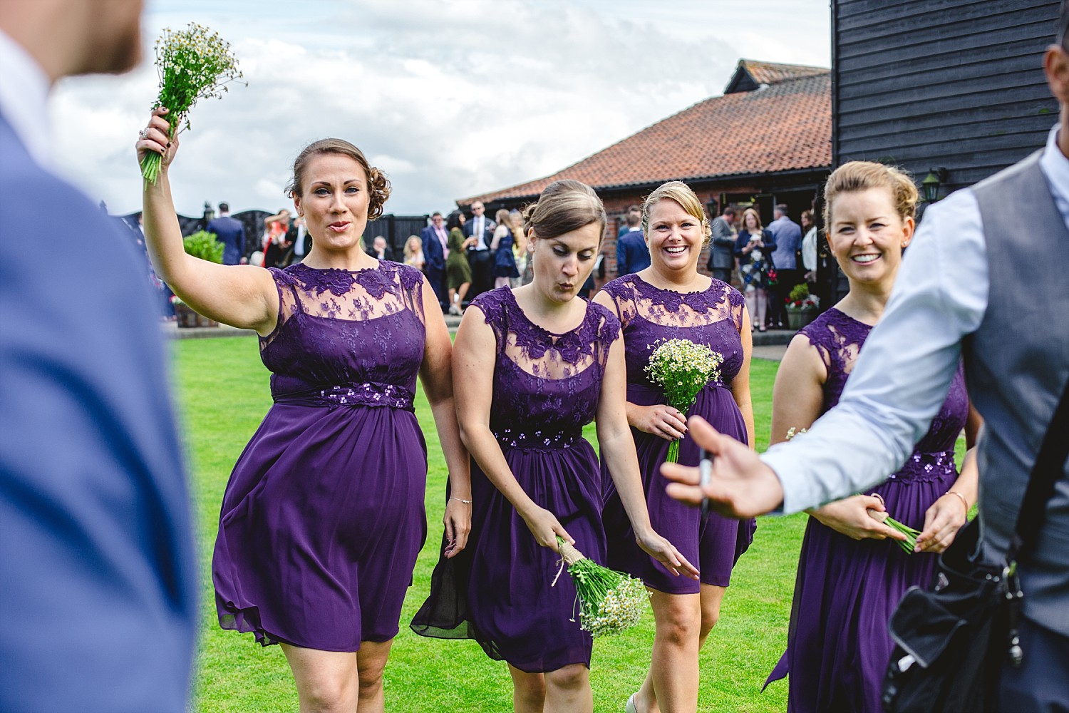 Wedding Photographer Essex - Crondon Park Wedding - Bridesmaids