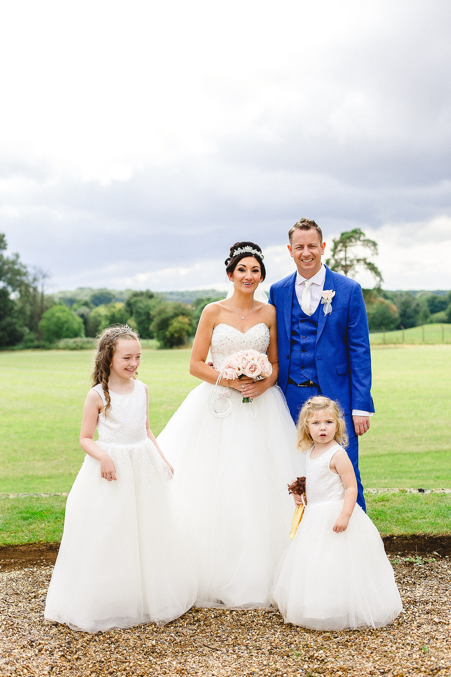 Wedding Photographer Essex - Gosfield Hall Wedding - Family Portrait