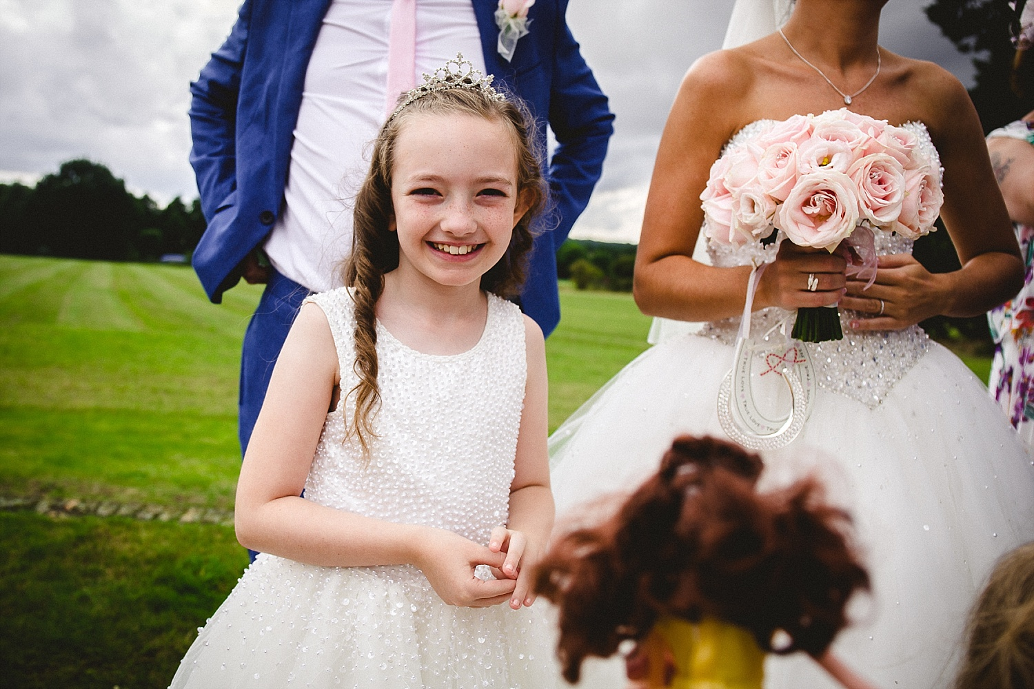Gosfield Hall Wedding Photographer - Flowergirls
