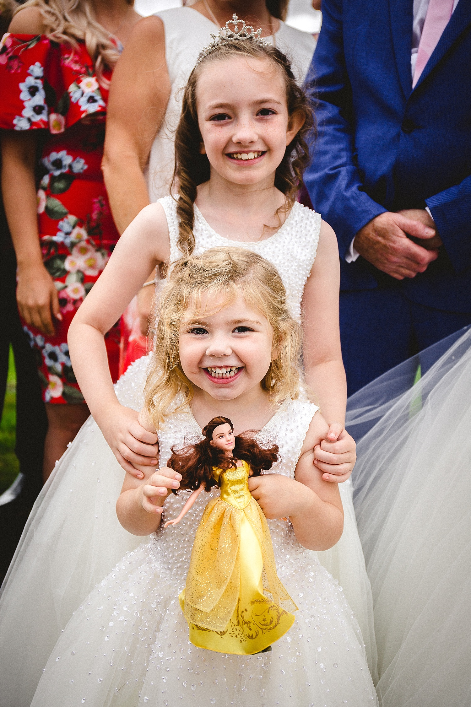 Gosfield Hall Wedding - Flowergirls