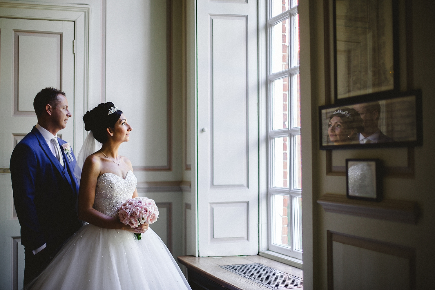 Gosfield Hall Wedding - Portraits in the House