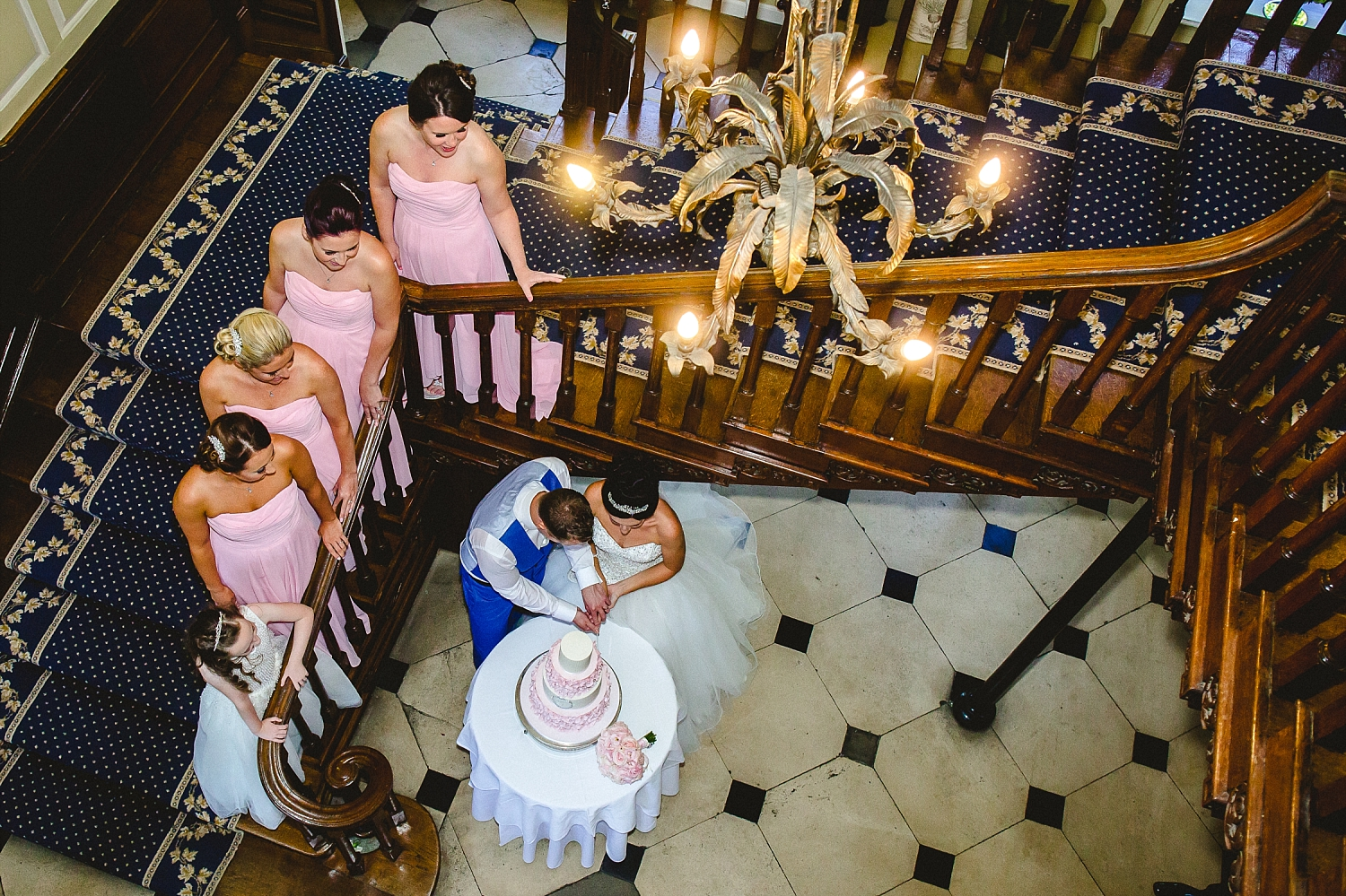 Gosfield Hall Essex Wedding - Cake Cutting
