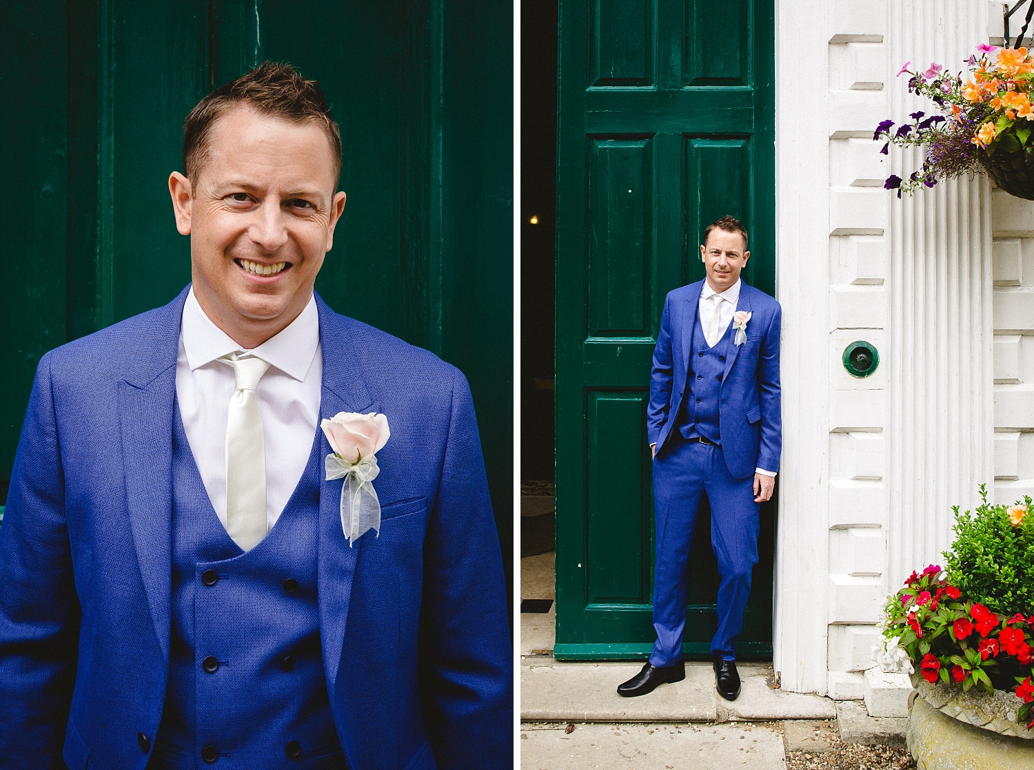 Gosfield Hall Essex Wedding - Groom's Party