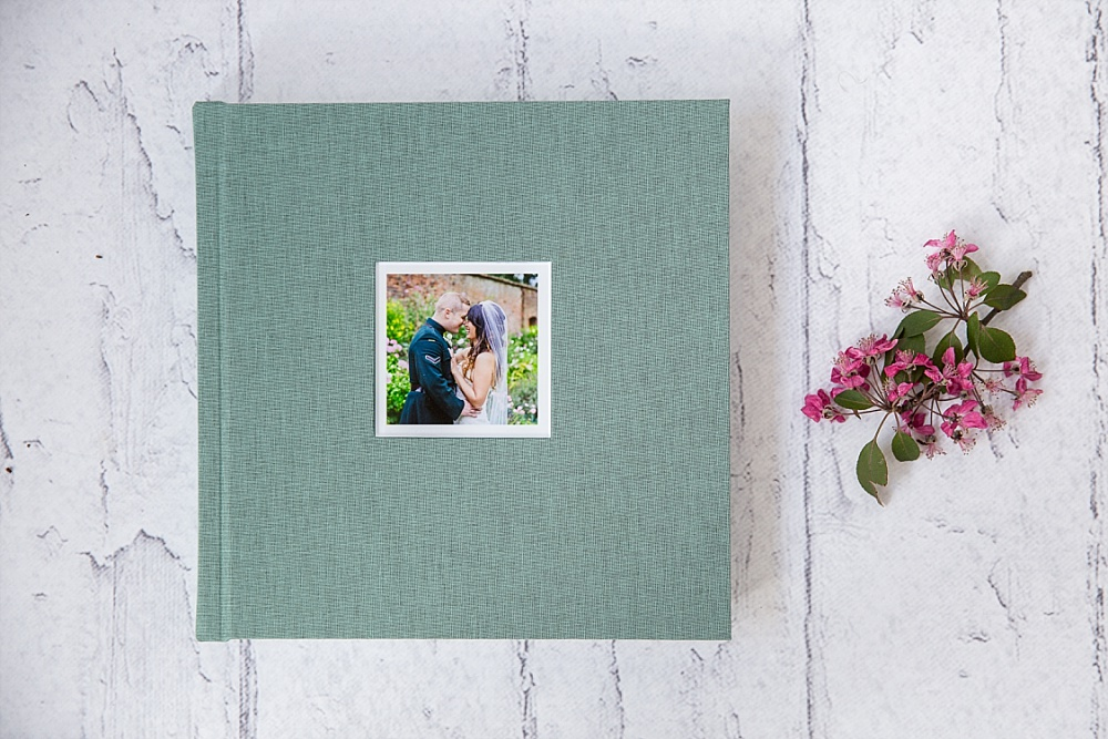 Linen Cover Wedding Album