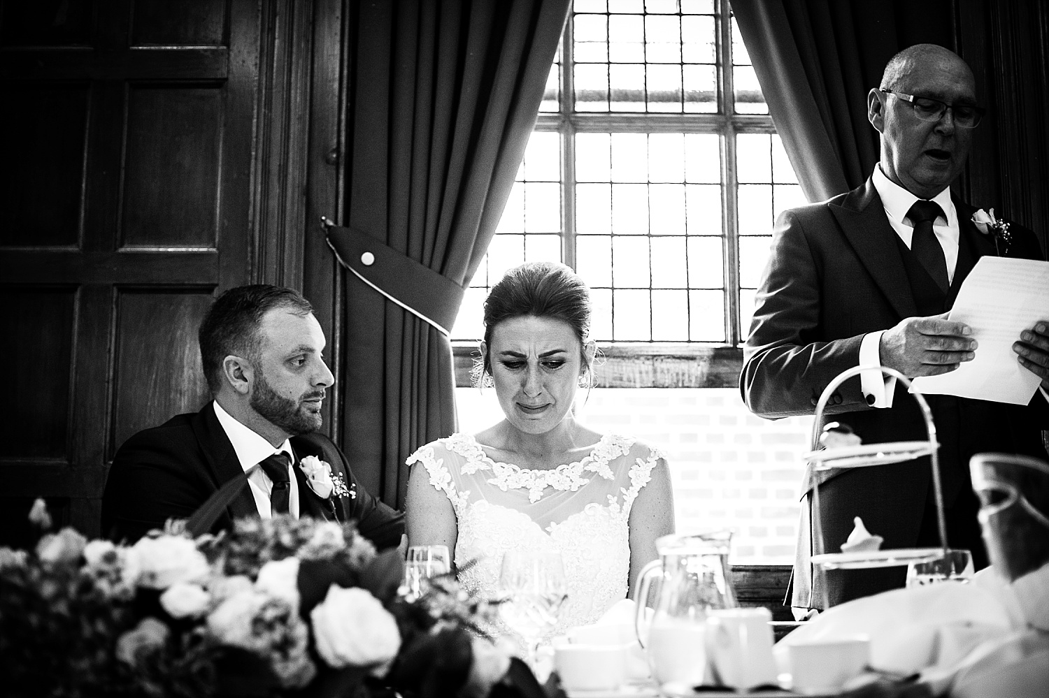 Langtons House Essex Wedding Photographer - Reception Speeches