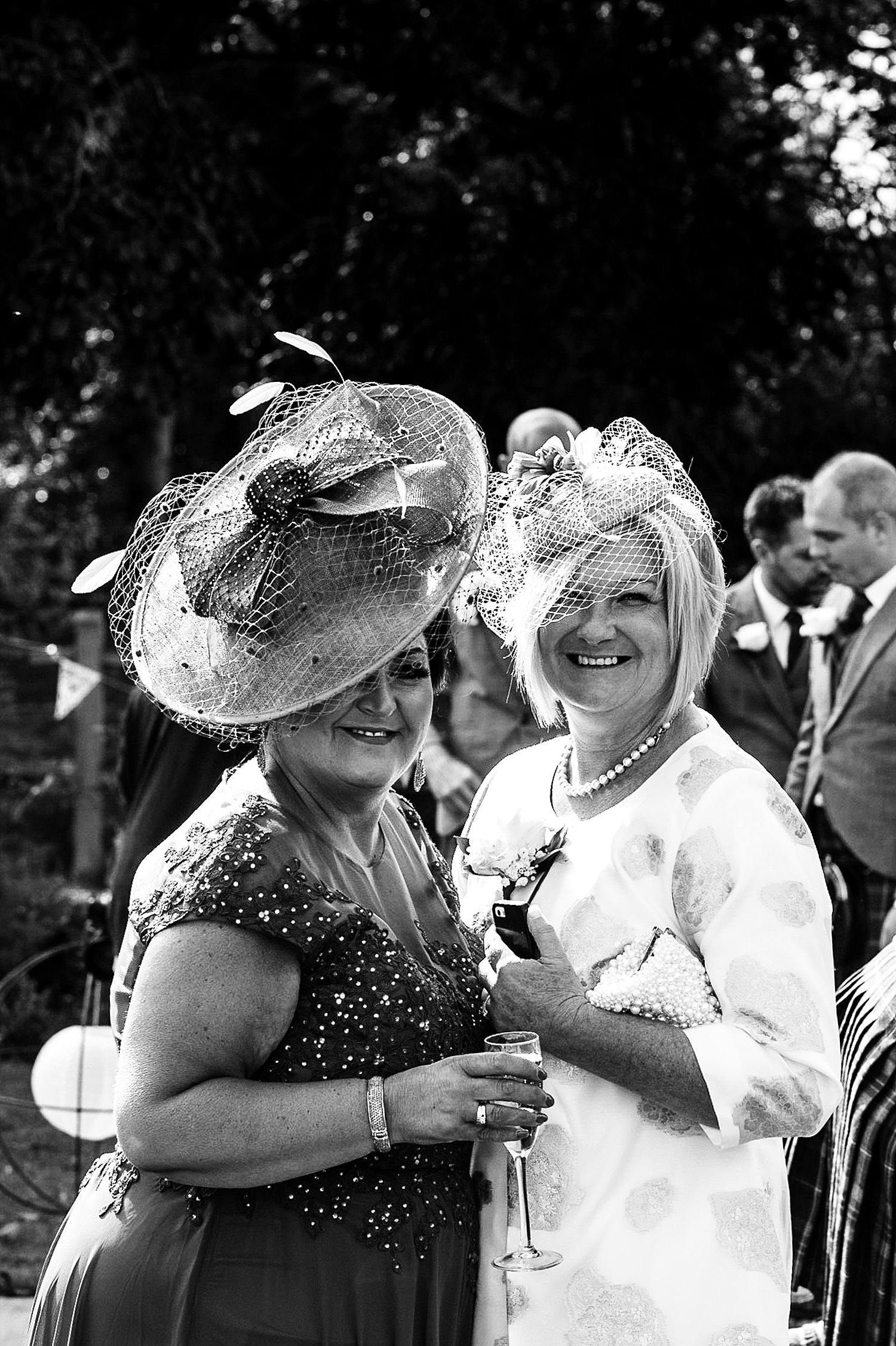 Houchins Essex Wedding - Reception Guests