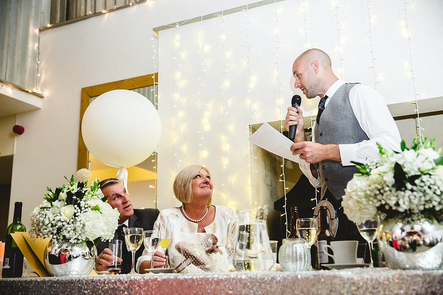 Houchins Essex Wedding Photographer - Groom's Speeches