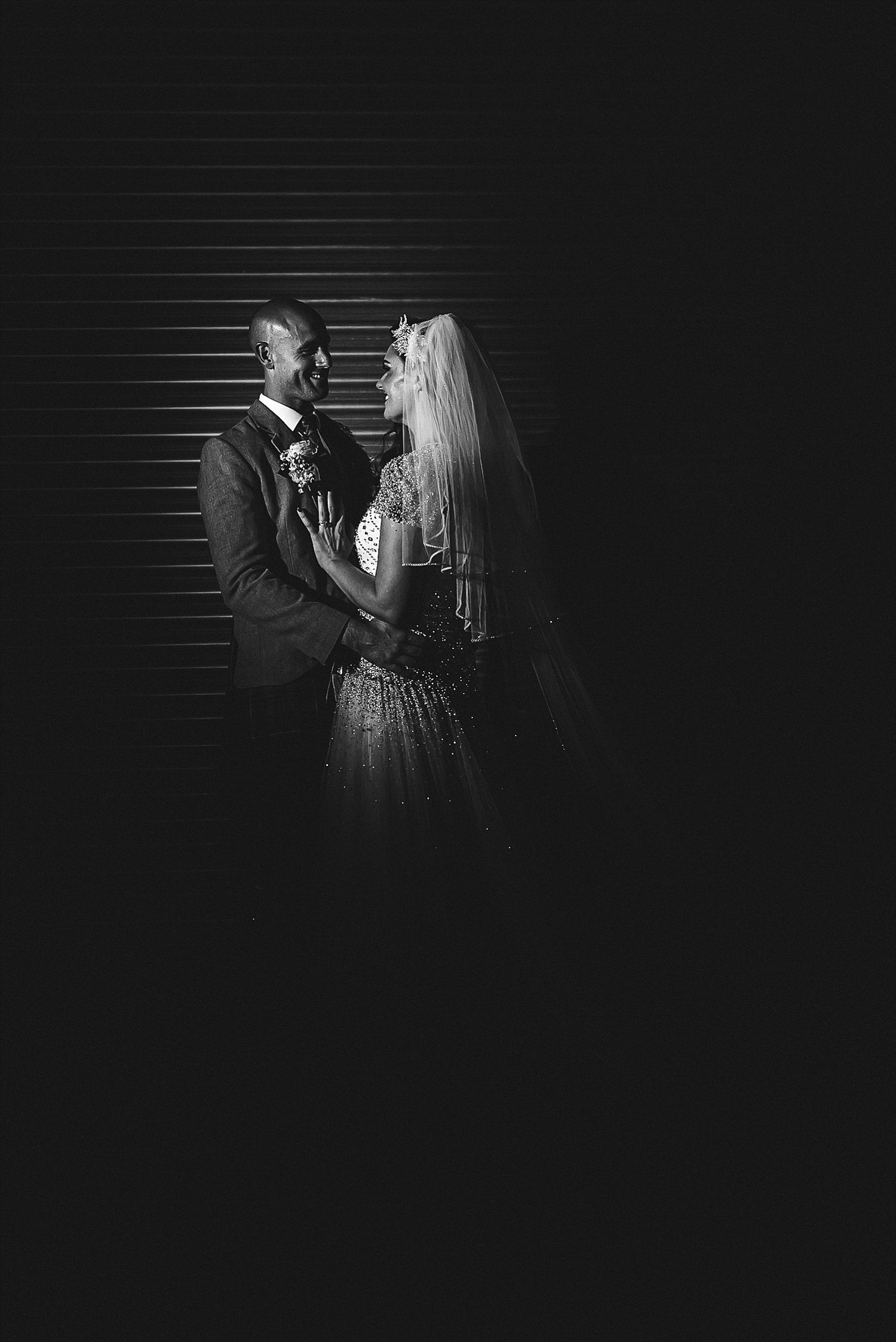 Houchins Wedding Photographer - Creative Portrait