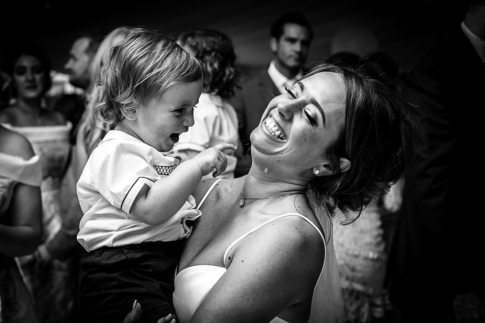 Moor Hall Wedding Photographer Mother and Son Dancing Together