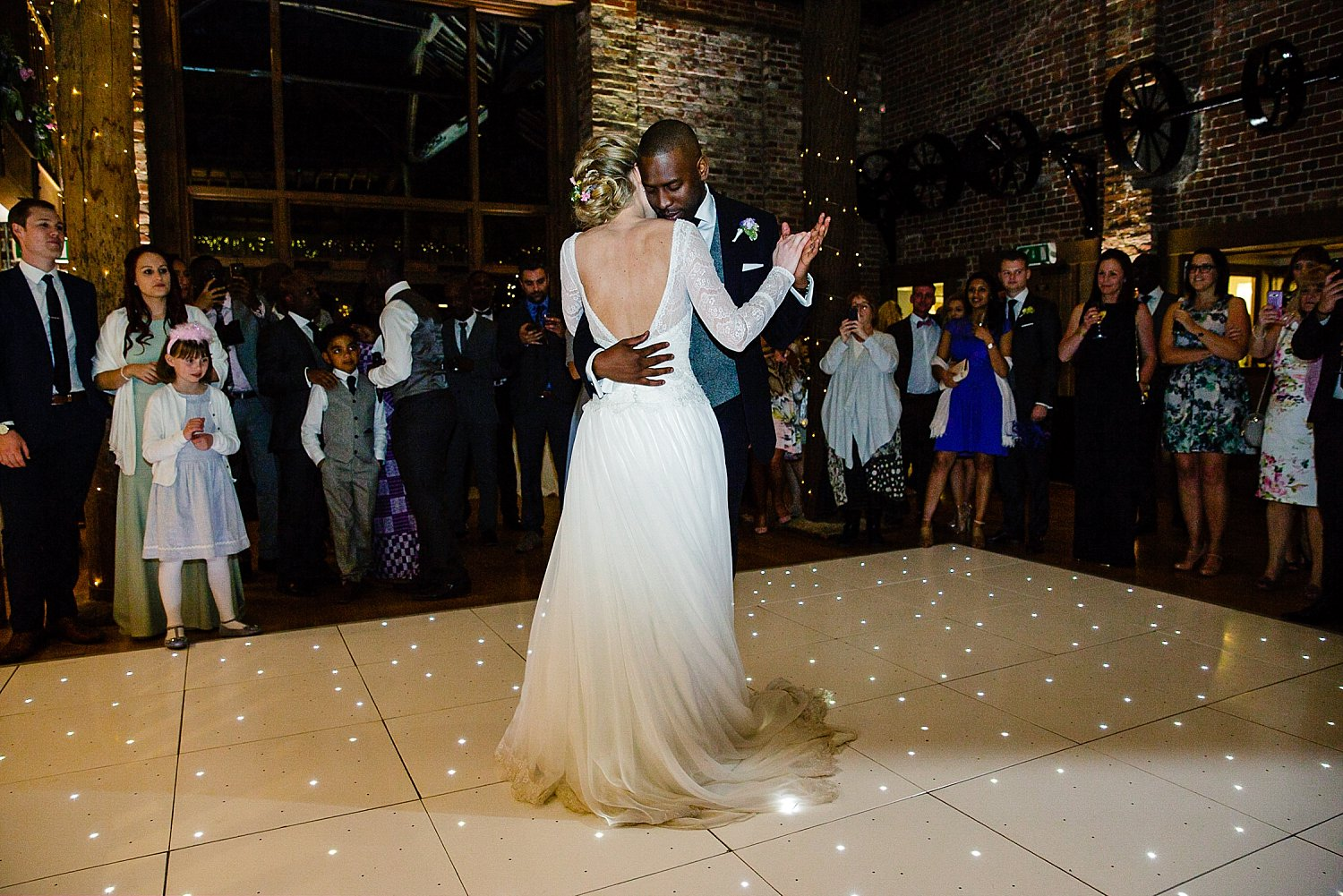 Gaynes Park Wedding Photographer First Dance
