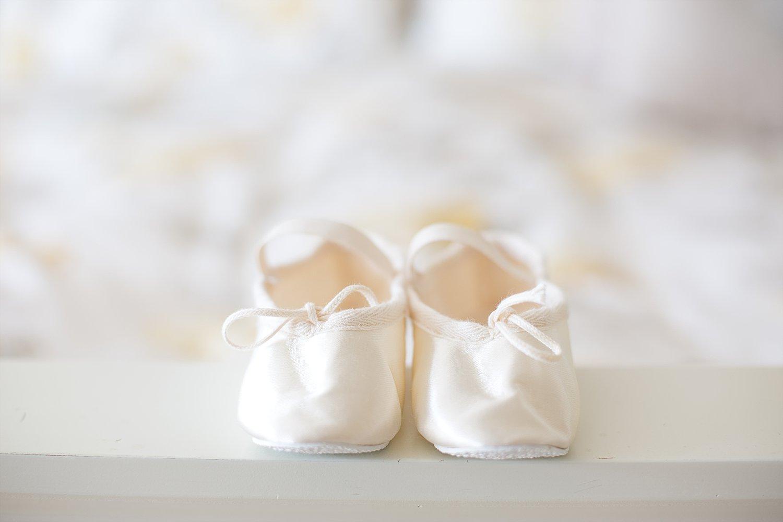 Wedding Photographer Essex - Moor Hall Wedding - Flower Girl Shoes