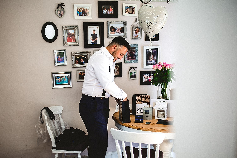 Moor Hall Wedding Photographer - Groom preparations