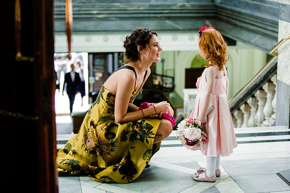 Islington Town Hall Wedding - Flower girl